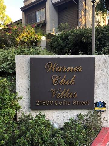 21500 Califa Street #150, Woodland Hills, CA 91367 (#SR19232708) :: Golden Palm Properties