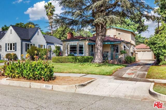 2665 E Villa Street, Pasadena, CA 91107 (#19519576) :: Golden Palm Properties
