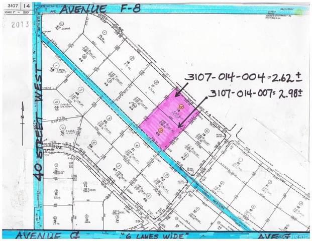 37000 Vac/Ave F8/Vic Avenue G, Lancaster, CA 93536 (#SR19242835) :: Eman Saridin with RE/MAX of Santa Clarita