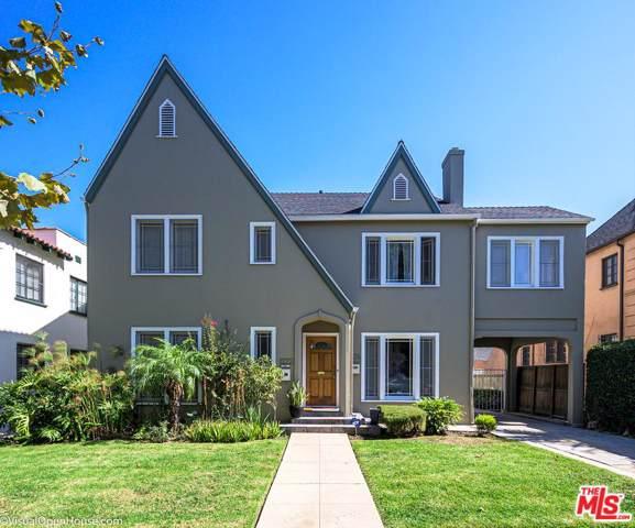 1222 S Sycamore Avenue, Los Angeles (City), CA 90019 (#19520054) :: The Agency