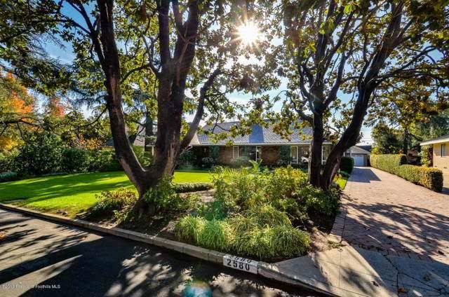 2580 Deodar Circle, Pasadena, CA 91107 (#819005449) :: Golden Palm Properties
