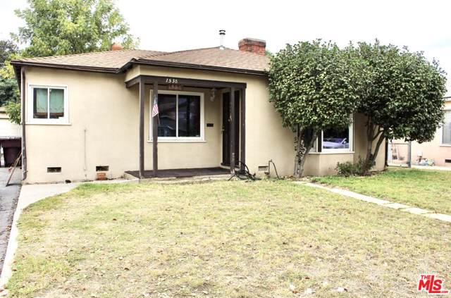 1538 Lake Street, Glendale, CA 91201 (MLS #19535394) :: The John Jay Group - Bennion Deville Homes