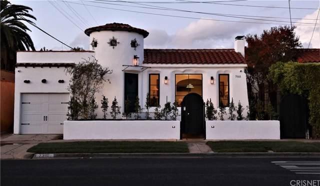 7315 Oakwood Avenue, Los Angeles (City), CA 90036 (#SR19278382) :: Golden Palm Properties