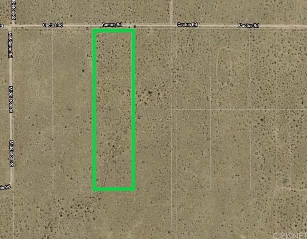 0 Cactus Road, Adelanto, CA 92301 (#SR20006334) :: The Suarez Team
