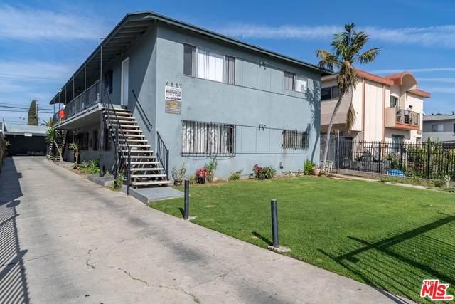 4839 W 17TH St, Los Angeles, CA 90019 (MLS #20-564390) :: Hacienda Agency Inc