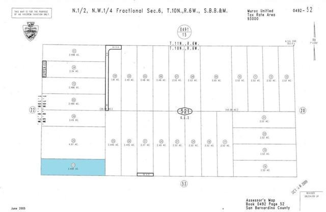 0 Vacant Land, Kramer Junction, CA  (#SR16097483) :: The Pratt Group