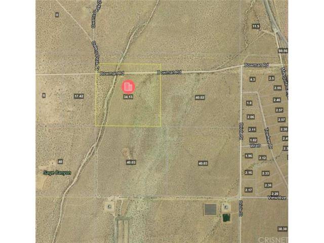 0 Bowman Road, Inyokern, CA  (#SR18063661) :: The Real Estate Offices of Talbot and Watson