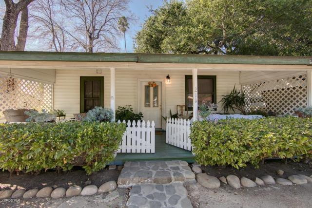 211 Fox Street, Ojai, CA 93023 (#218014133) :: Paris and Connor MacIvor