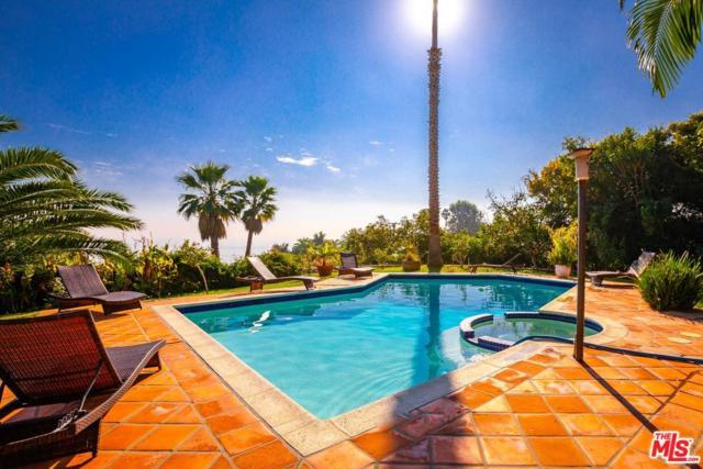 3380 Sweetwater Mesa Road, Malibu, CA 90265 (#18414586) :: PLG Estates