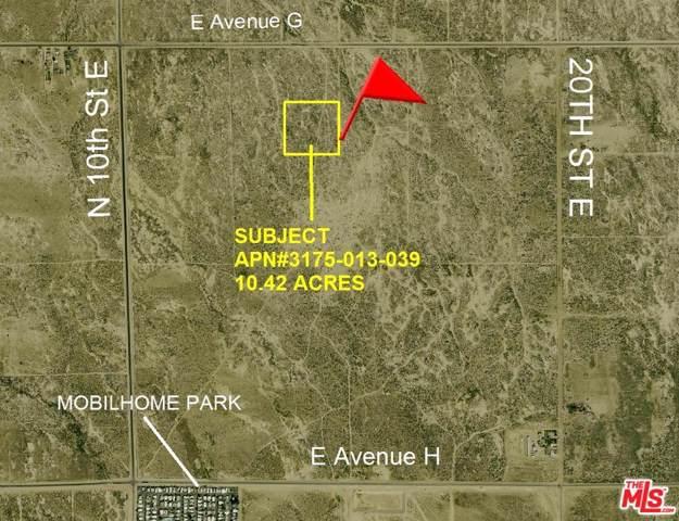 0 15th Street East And Avenue G-2, ROOSEVELT CORNER, CA 93535 (MLS #19-524572) :: Mark Wise | Bennion Deville Homes