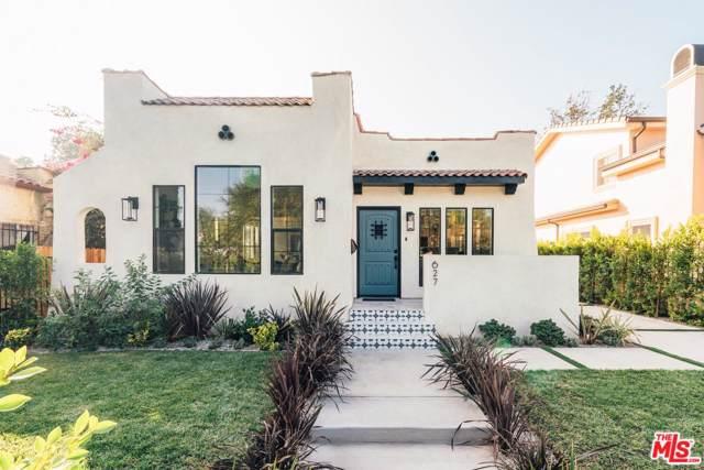 627 N Sierra Bonita Avenue, Los Angeles (City), CA 90036 (#19528914) :: The Agency