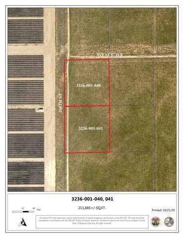 0 Vac/Vic Avenue D8/160 Stw, Fairmont, CA 93536 (#SR19267557) :: The Pratt Group
