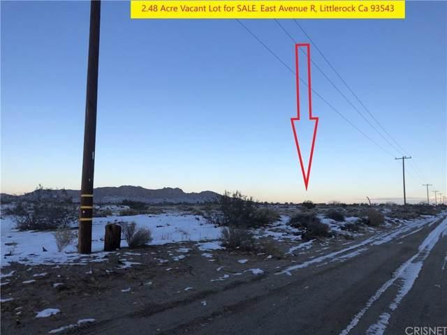 1 East Avenue R, Littlerock, CA 93543 (#SR19268547) :: The Pratt Group
