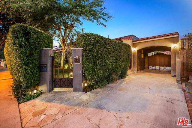 338 Westbourne Dr, West Hollywood, CA 90048 (MLS #20-540692) :: The Jelmberg Team