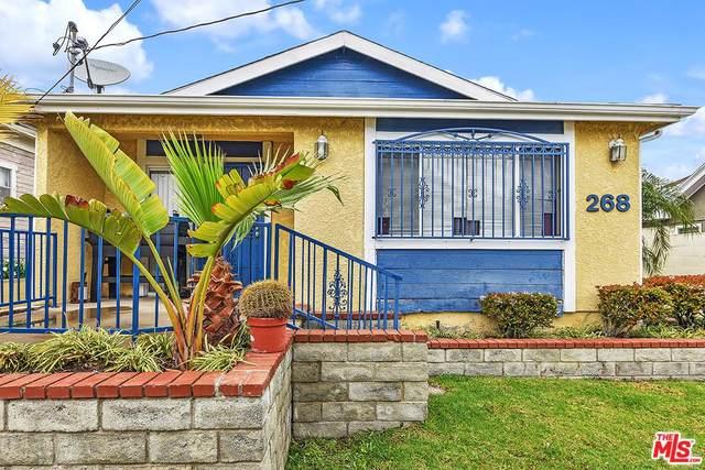 268 W 12TH St, San Pedro, CA 90731 (#20-542678) :: Randy Plaice and Associates