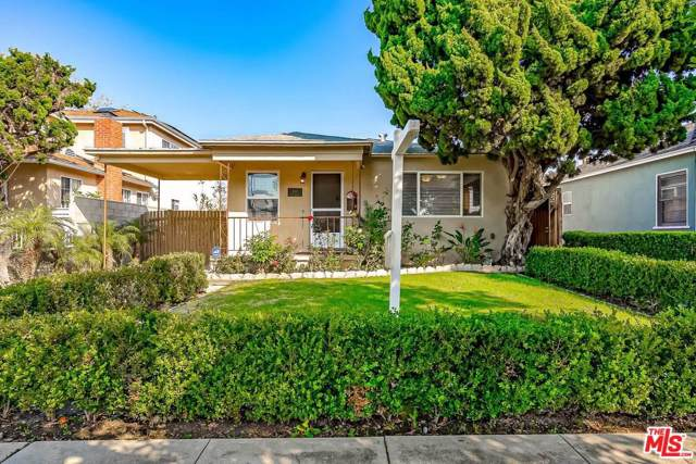 3780 Rosewood Avenue, Los Angeles (City), CA 90066 (#20545810) :: Randy Plaice and Associates
