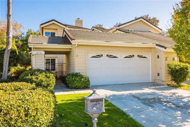 5771 Tanner Ridge Avenue, Westlake Village, CA 91362 (#SR20014106) :: The Suarez Team