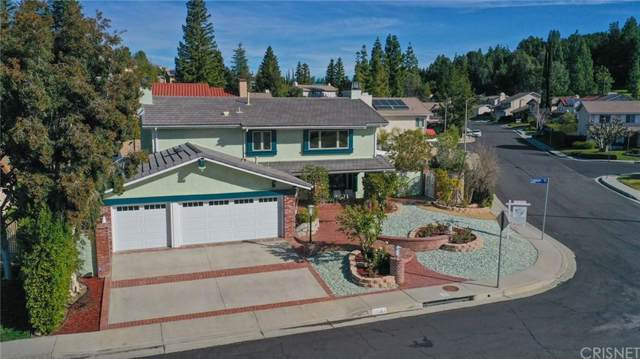 24501 Crabapple Court, West Hills, CA 91307 (#SR20015373) :: The Agency