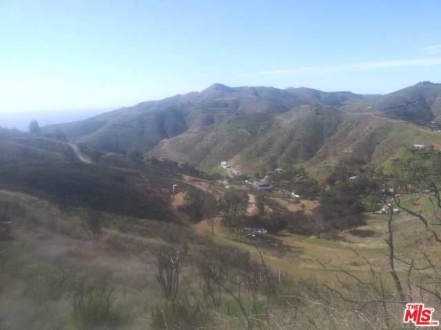 Stagecoach Rd, Malibu, CA 90265 (MLS #20-546300) :: Hacienda Agency Inc