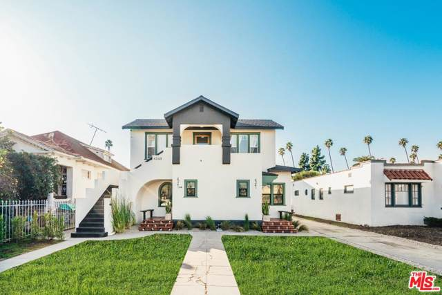 4241 2ND Avenue, Los Angeles (City), CA 90008 (#20547538) :: The Agency