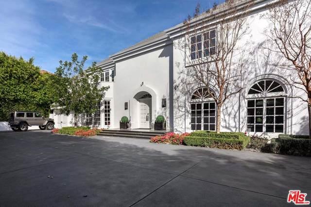 820 N Whittier Dr, Beverly Hills, CA 90210 (MLS #20-552524) :: The John Jay Group - Bennion Deville Homes