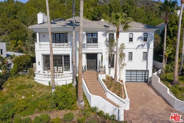 1417 Via Anita, Pacific Palisades, CA 90272 (MLS #20-550788) :: The John Jay Group - Bennion Deville Homes