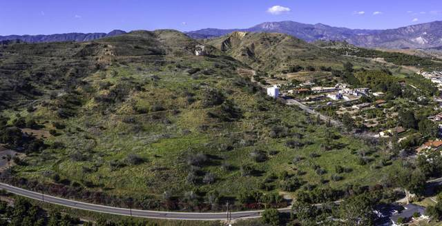 Peck And Foothill Road, Santa Paula, CA 93060 (#220002196) :: Randy Plaice and Associates