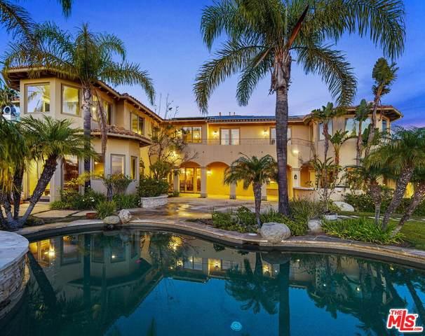 1452 Via Cresta, Pacific Palisades, CA 90272 (#21-784716) :: Lydia Gable Realty Group