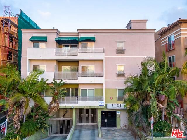 1128 S Serrano Ave #303, Los Angeles, CA 90006 (MLS #21-795206) :: The Sandi Phillips Team
