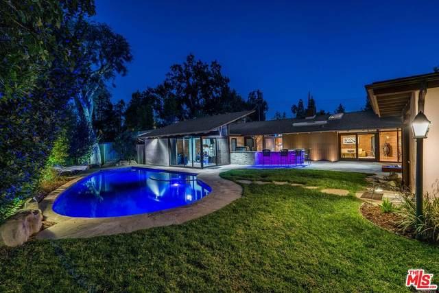 23341 Los Encinos Way, Woodland Hills, CA 91367 (#21-796774) :: The Bobnes Group Real Estate