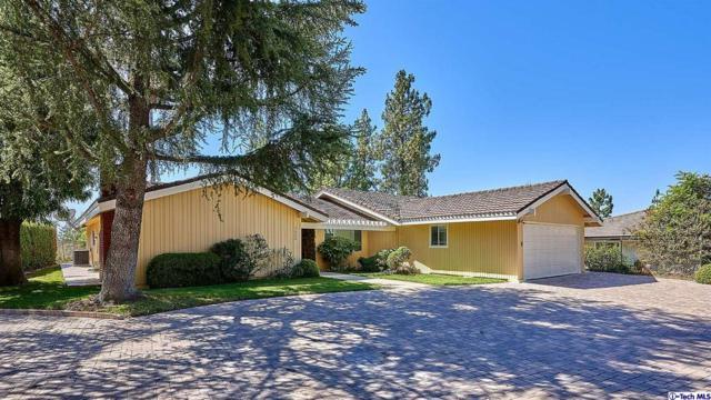 1002 El Vago Street, La Canada Flintridge, CA 91011 (#319000112) :: Fred Howard Real Estate Team