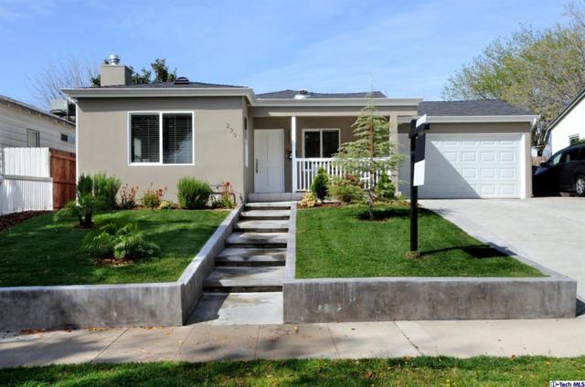 239 N Frederic Street, Burbank, CA 91505 (#319001156) :: The Fineman Suarez Team