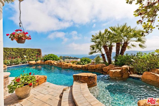 1738 Chastain, Pacific Palisades, CA 90272 (#19473940) :: TruLine Realty