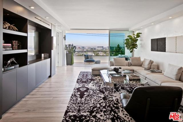 1100 Alta Loma Road #805, West Hollywood, CA 90069 (#19486592) :: The Agency