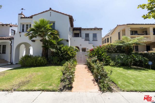 156 N Detroit Street, Los Angeles (City), CA 90036 (#19489854) :: The Agency