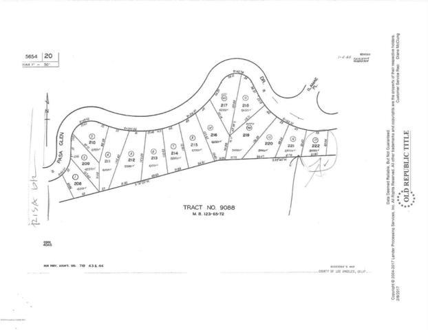 Pasa Glen Drive, Glendale, CA 91208 (#819003655) :: Golden Palm Properties