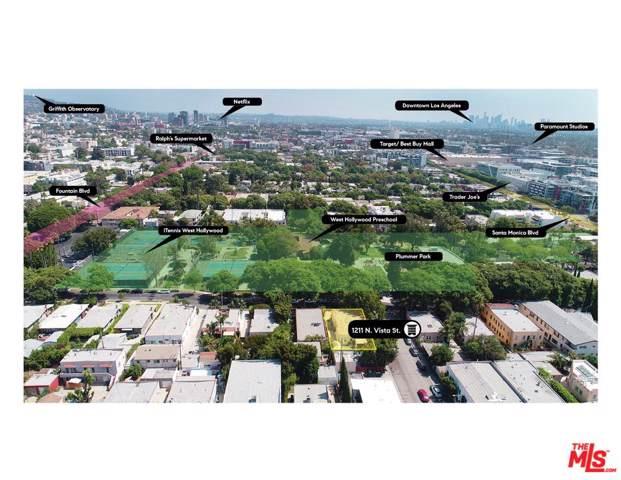 1211 N Vista Street, West Hollywood, CA 90046 (#19512676) :: Golden Palm Properties