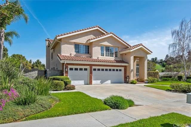 11800 Wood Ranch Road, Granada Hills, CA 91344 (#SR19236920) :: The Fineman Suarez Team