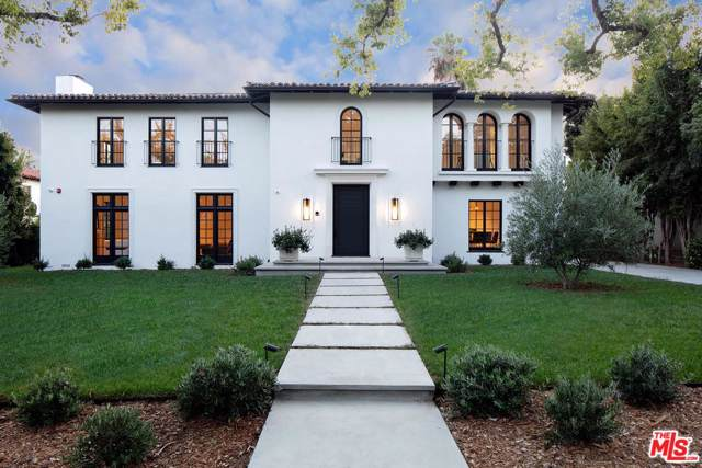 625 N Maple Drive, Beverly Hills, CA 90210 (#19520624) :: The Agency