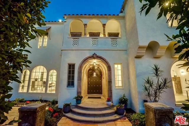 748 S Cloverdale Ave, Los Angeles, CA 90036 (MLS #20-549256) :: Hacienda Agency Inc