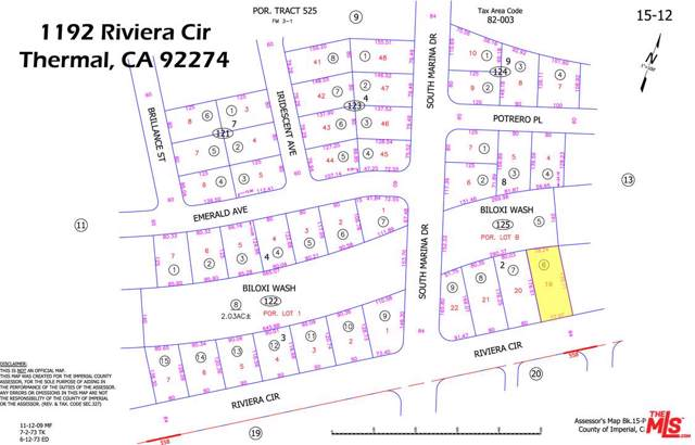 1192 Riviera Cir, Thermal, CA 92274 (#18-299130) :: The Pratt Group
