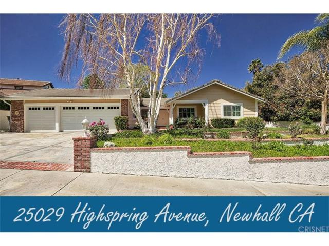 25029 Highspring Avenue, Newhall, CA 91321 (#SR18085203) :: Paris and Connor MacIvor