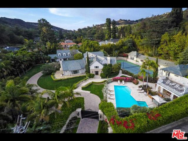 9555 Heather Road, Beverly Hills, CA 90210 (#18344588) :: The Fineman Suarez Team