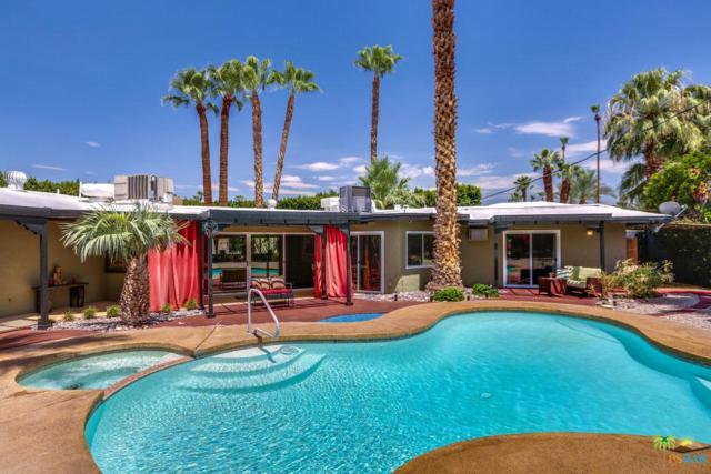 1685 E Avenida Olancha, Palm Springs, CA 92264 (#18366504PS) :: Fred Howard Real Estate Team
