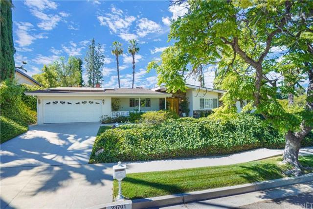 23701 Ladrillo Street, Woodland Hills, CA 91367 (#SR19143099) :: The Agency