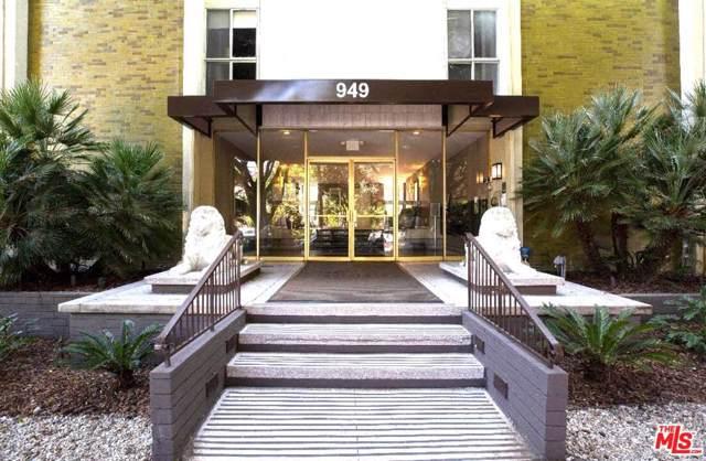 949 N Kings Rd #208, West Hollywood, CA 90069 (MLS #19-497036) :: The Jelmberg Team