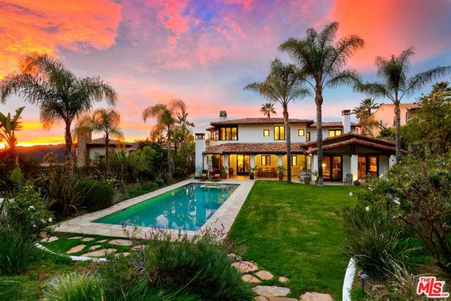 1765 Chastain Parkway East, Pacific Palisades, CA 90272 (#18412612) :: The Agency