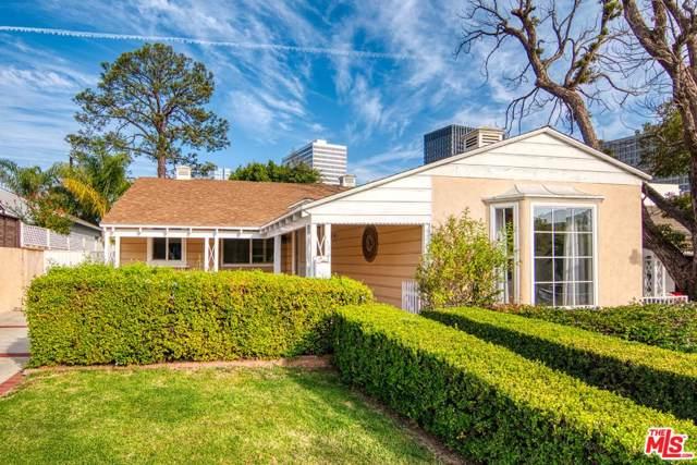 1736 Ensley Avenue, Los Angeles (City), CA 90024 (#19529624) :: The Pratt Group