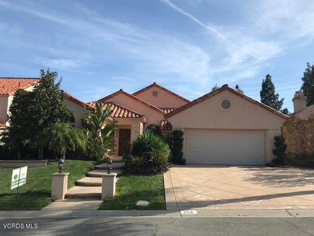 754 Cedar Point Place, Westlake Village, CA 91362 (#218000614) :: California Lifestyles Realty Group