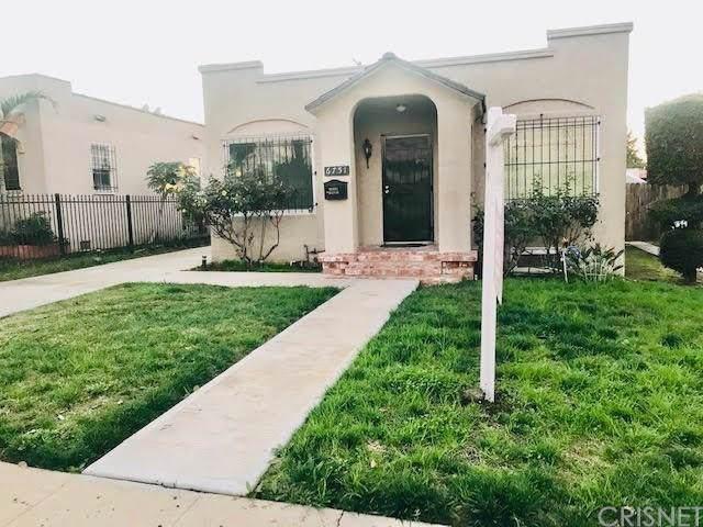 6751 2ND Avenue, Los Angeles (City), CA 90043 (#SR19281026) :: Golden Palm Properties
